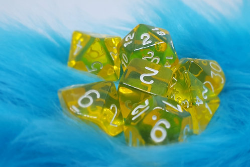 Dice Set - Gem [ Yellow ]