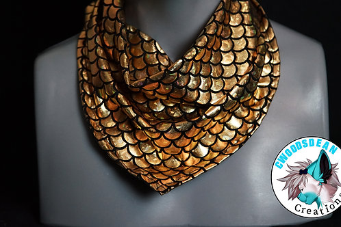 Gold Mermaid Bandanna