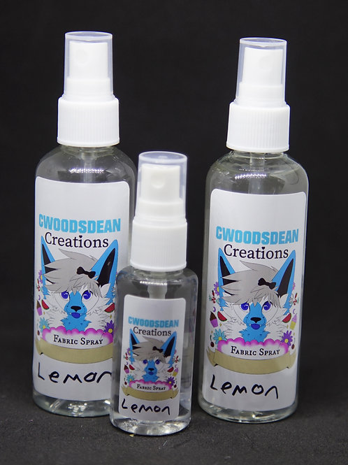Disinfectant Fabric & Surface Spray - Lemon