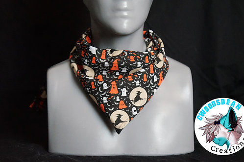 Halloween Bandanna - Witches & Ghosts