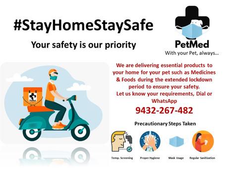 #StayHomeStaySafe