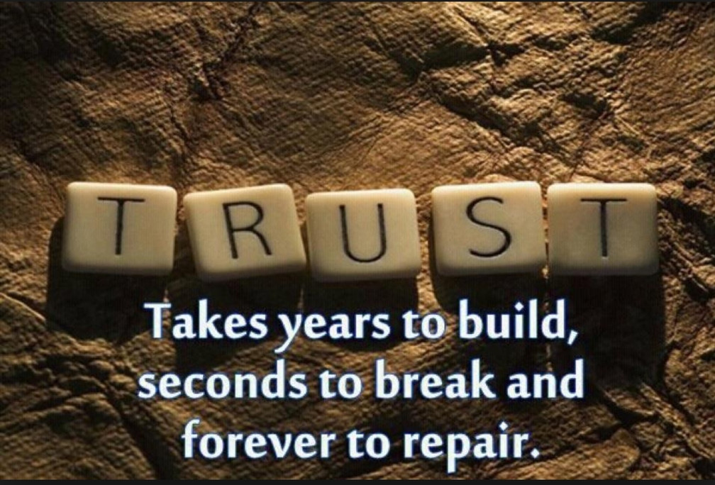 TRUST: the foundation for everything