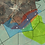 Thumbnail: Combo Map: Combined Chrome Map with Illustrated Geology
