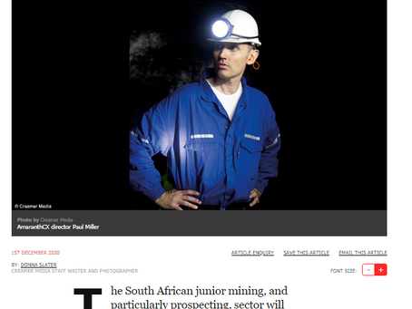 Transparency is a minimum requirement for a functioning mining industry regulatory system.
