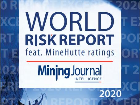 Mining Journal Intelligence: World Risk Report 2020