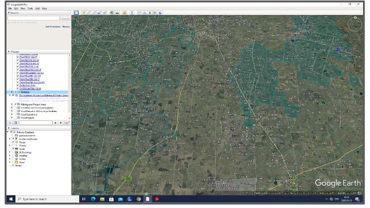 Surface Cadastral Map of Mpumalanga