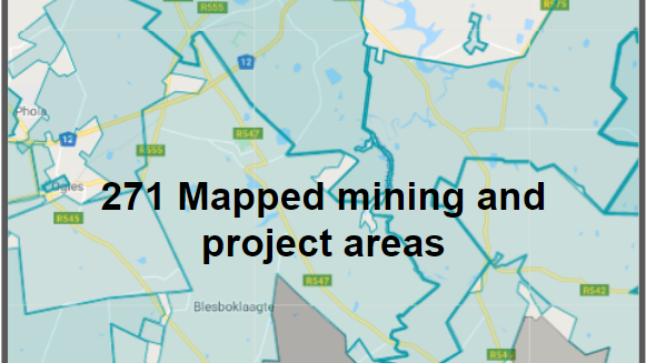 The Southern African Coal Mining & Project Areas: October 2020 Edition