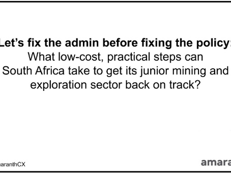 Let's fix the admin before fixing the policy: