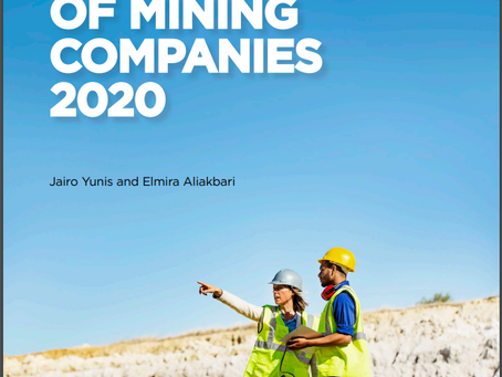 Fraser Institute Annual Survey of Mining Companies 2020
