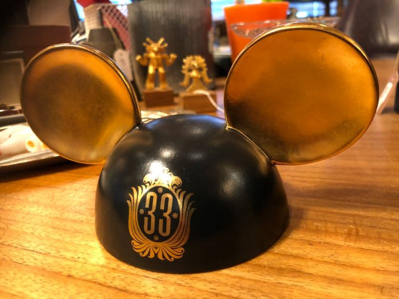 Through the Estate Sales side of our business, we often have collectibles moving through our store, such as the every-popular, member-only, exclusive Disney Club 33 merchandise.