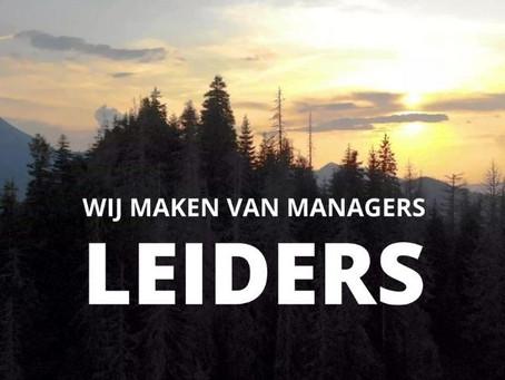 Manager of leider. Wie geeft er in de toekomst leiding?