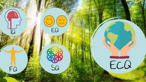 Het vijfde en nieuwste intelligentieniveau: ecologische quotiënt (EcQ)