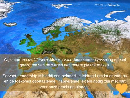 De 17 werelddoelen voor duurzame ontwikkeling vragen om Servant-Leadership
