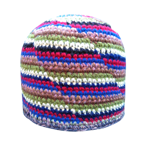 Crochet Skullcap Knitted Muslim Hat Kufi Chunky