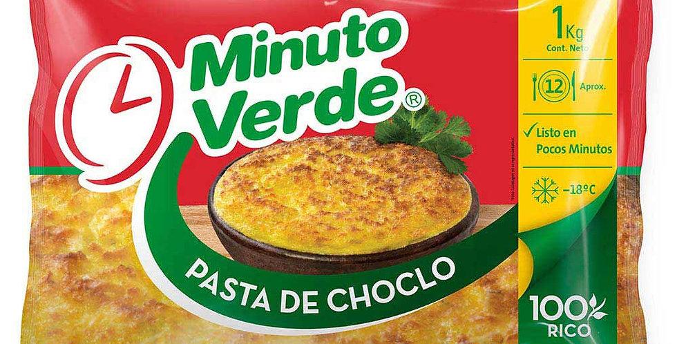 Pasta de choclo minuto verde o similar 1kg