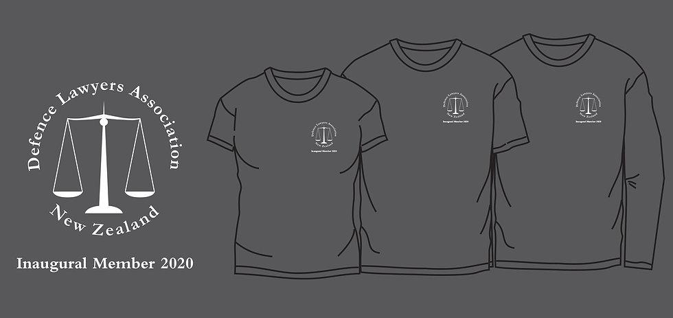 Unisex long-sleeve DLANZ inaugural member t-shirt