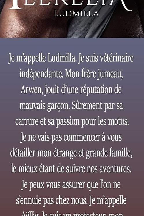 Féerélia Marque-page Ludmilla Dédicacé