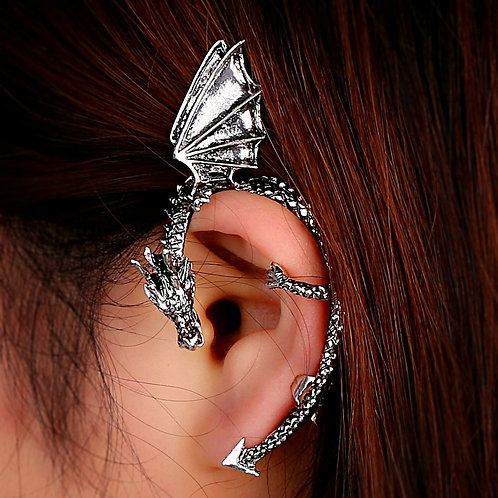 Boucles d'oreilles en Forme de dragon pour femmes, hommes, boucles d'oreilles