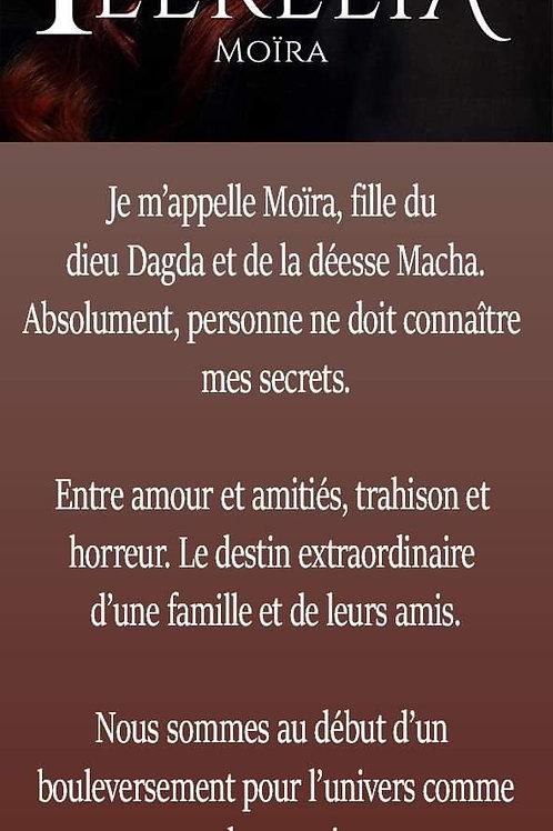 Féerélia Marque-page Moïra Dédicacé