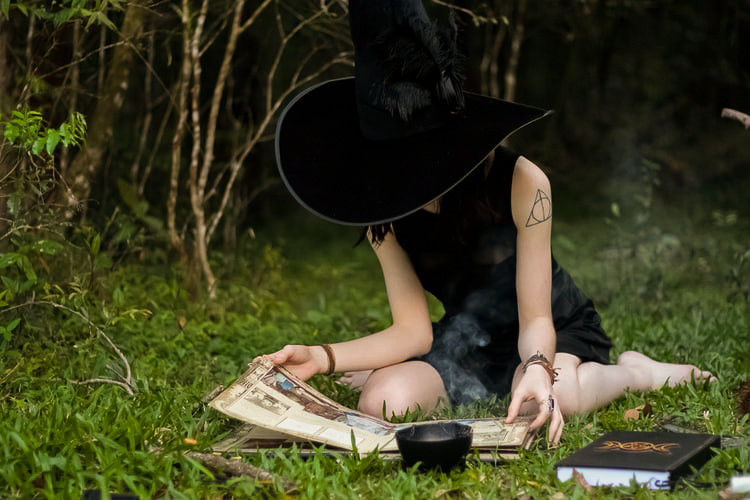 Not all witches have to wear a pointy hat