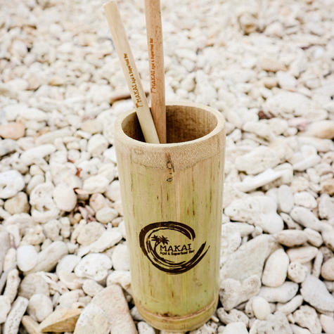 Bamboo Cups & Straws