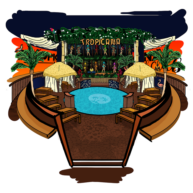 Illustrations for Tropicana!