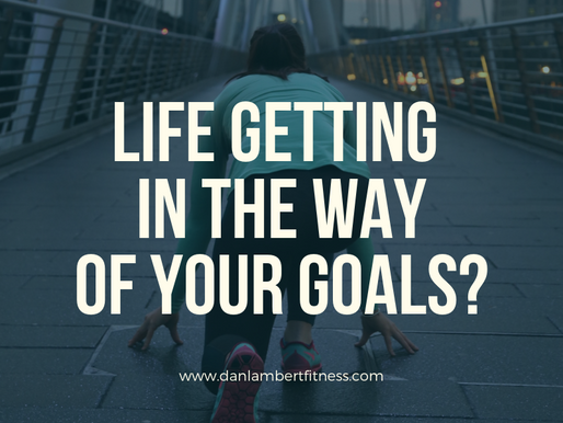 Life getting in the way of your goals?