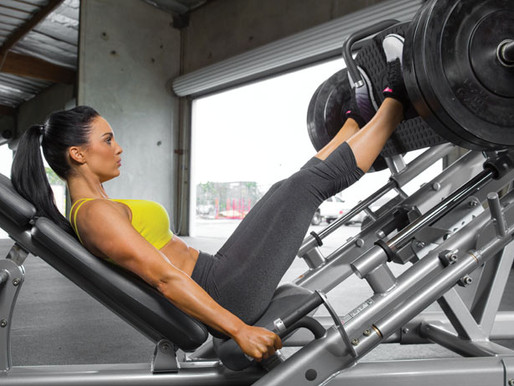 Where to place your feet on the Leg Press