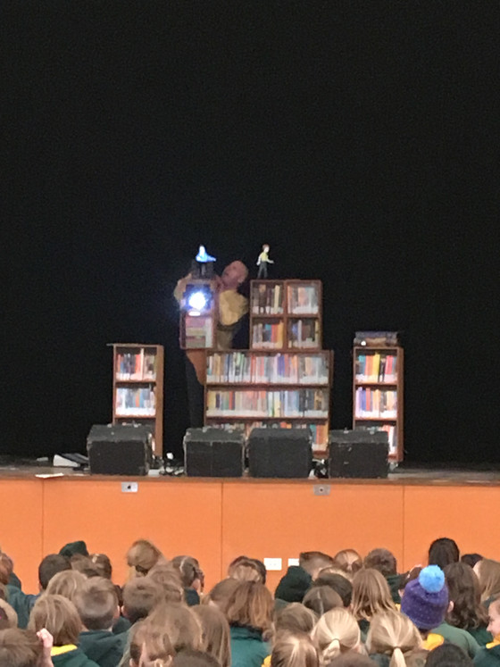 The Labyrinth in the Library- Book Week Performance