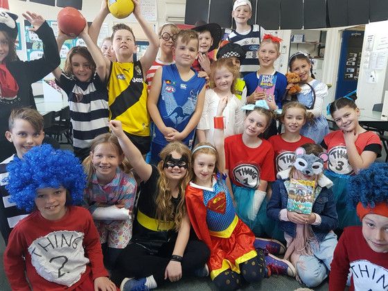 Year 3 Celebrates Book Week 2018