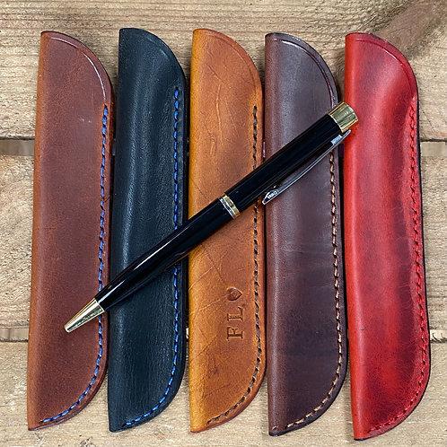 Handmade Leather Pen Holder