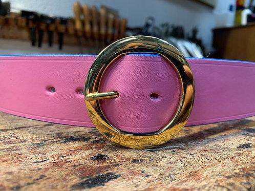 Pink - Round Buckle