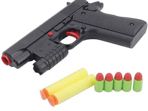 SHOOT SPEED KIDS ARMY COMBAT SOFT DART TOY GUN KIDS TOYS RUBBER BULLET TOY PISTO
