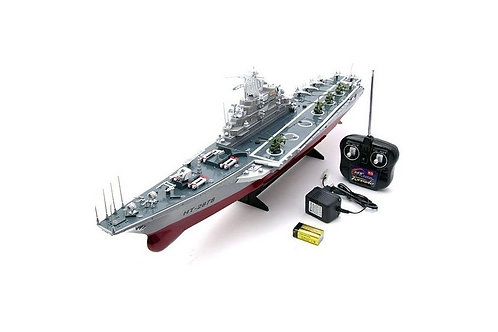REMOTE CONTROL RC WAR ARMY NAVY BATTLE BOAT 2878 AIRCRAFT CARRIER MODEL BATTLESH