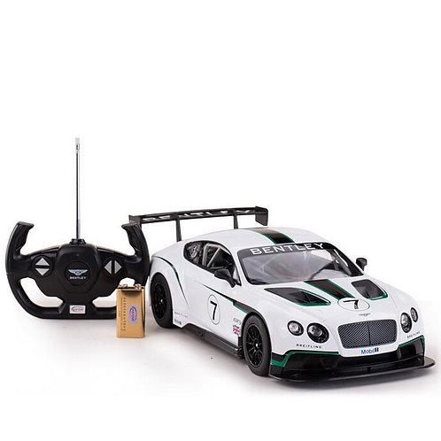 OFFICIAL LICENSED - RASTAR BENTLEY CONTINENTAL GT3 SUPER SPORT R/C RADIO CONTROL