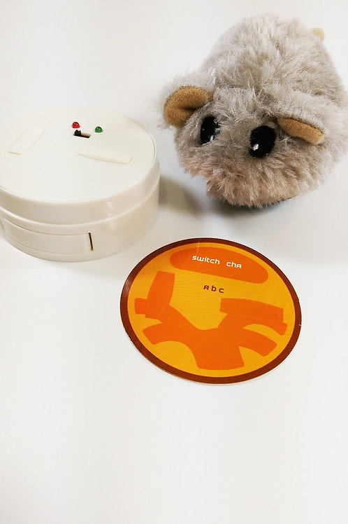 PARADISE PETS INFRARED 4CH REMOTE CONTROL RC HAMSTER