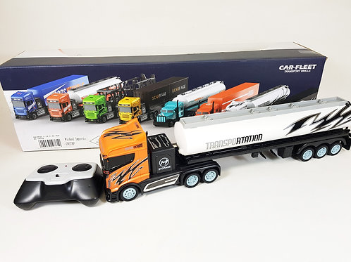 RADIO CONTROL 1:16 SCALE 2.4G RC MODEL BIG WHEELER OIL CONTAINER LORRY TRUCK
