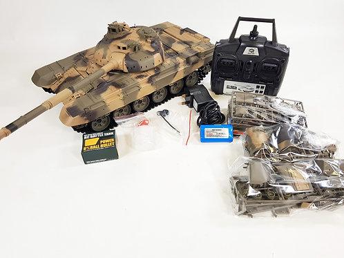 """RC TANK """"RUSSIAN T90"""" HENG LONG 1:16 SMOKE SOUND BB IR 2.4 GHZ V6.1S"""