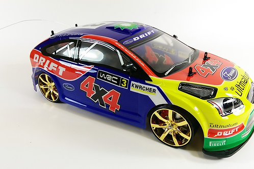 NQD CRAZY CITY 1-10 REMOTE CONTROL RC REPLICA HOONIGAN FORD FOCUS RS ST 4WD DRIF