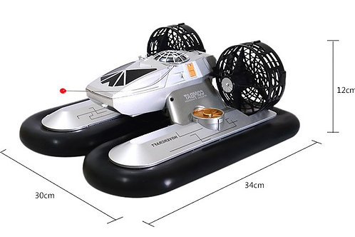 RADIO CONTROL ZHILUN 6653 4CH RC SPEEDBOAT HOVERCRAFT WITH WATER / LAND MODE