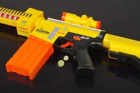 PHOTON STORM CALL OF DUTY SEMI-AUTO 7005 ELECTRIC SOFT BULLET GUN, SEMI-AUTO GUN