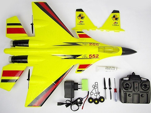 REMOTE RADIO CONTROL RC J-15 FLYING SHARK MODEL SUPER FIGHTER PLANE HEAVY CARRIE