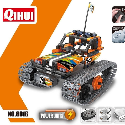 MECHANICAL MASTERS 3IN1 STUNT SERIES BRICKS - BUILD YOUR OWN REMOTE CONTROLLED