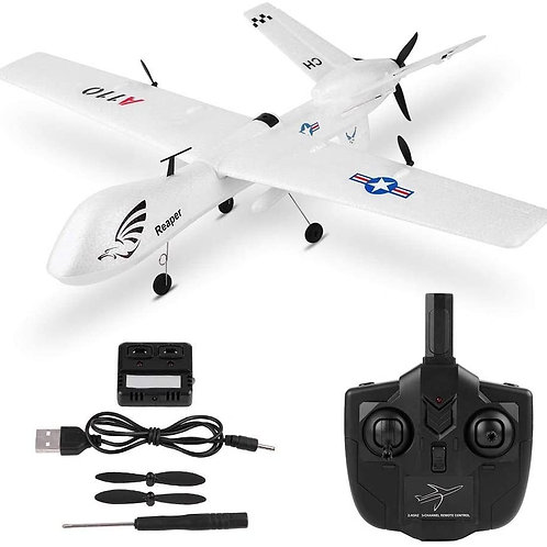 REMOTE CONTROL AIRPLANE, 3 CHANNELS FIXED-WING WLTOYS XK A110-MQ-9 RC AIRPLANE W