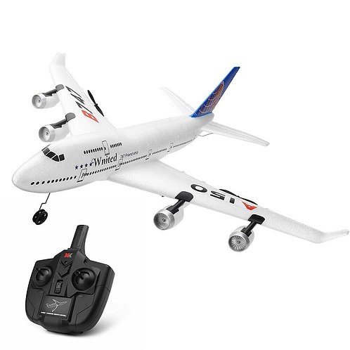 A150-C REMOTE CONTROL GYRO 360 AIRBUS B747 MODEL PLANE RC FIXED-WING 3CH EPP 2.4