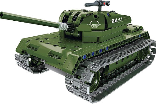 REMOTE CONTROL RC BUILD YOUR OWN RC 2.4GHZ ARMY BATTLE TANK MODEL KIT BUILDING B