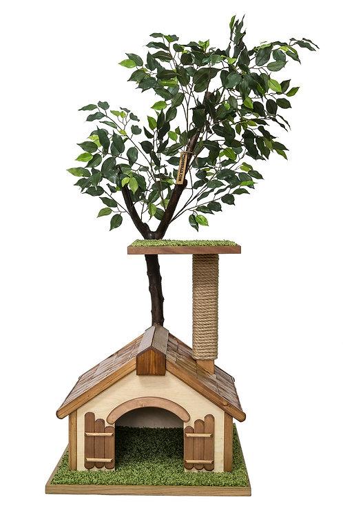 Дерево с домиком