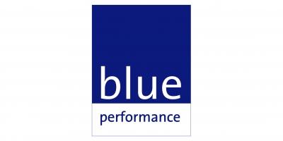 Logo Blue perf