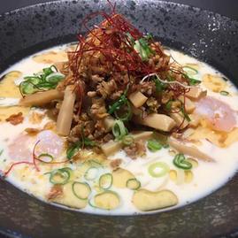 海老🦐とホタテの豆乳冷やし坦々麺