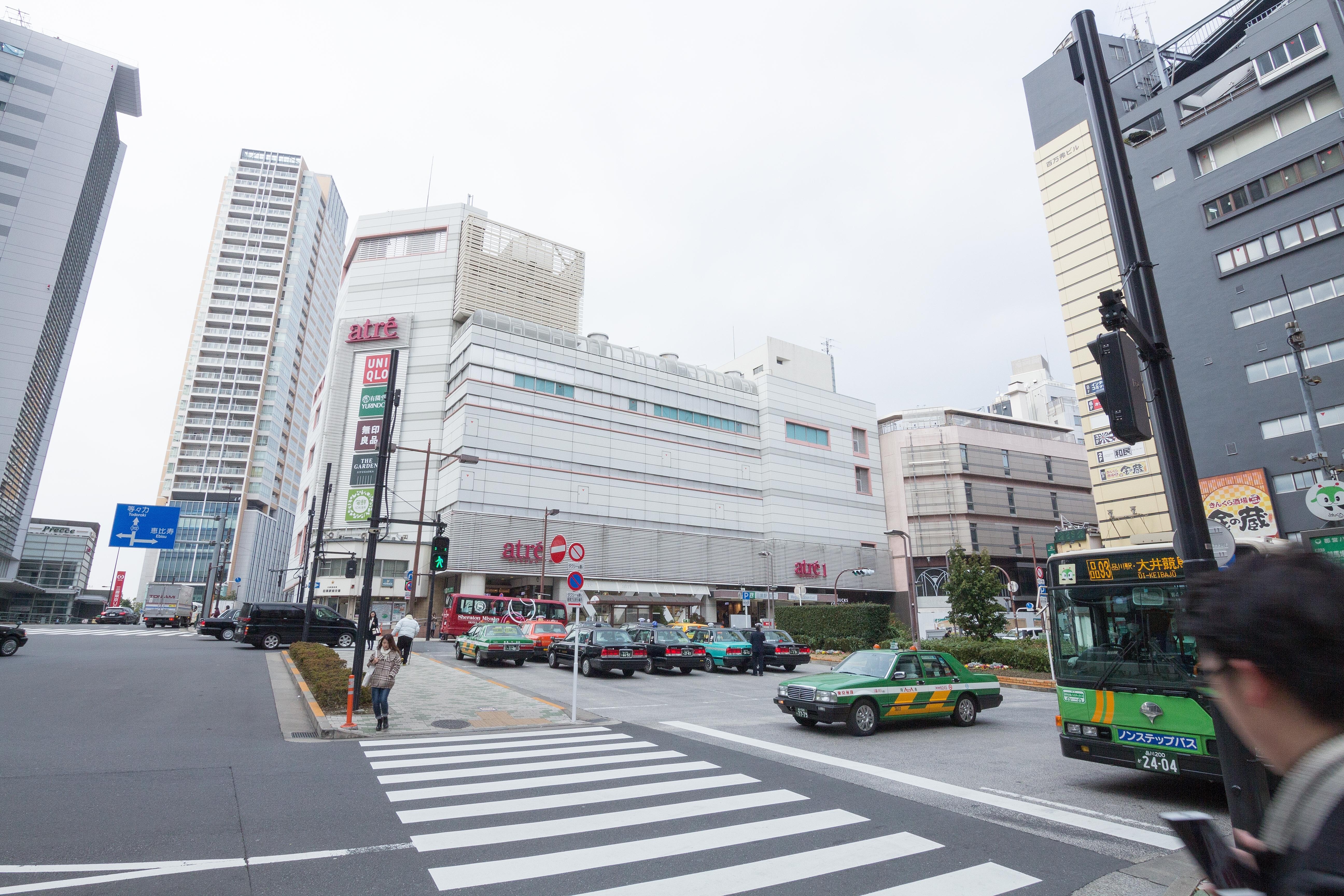 目黒駅前【I-01 目黒駅】